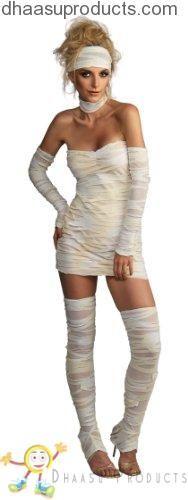 Rubie's Costume Women's Adult Mummy Costume, Whites, Standard - Halloween costumes Sexy Mummy Costume, Mummy Costumes, Costume Ideas, Joker Costume, Adult Halloween, Halloween 2017, Halloween Ideas, Creative Halloween Costumes, Ladies Halloween Costumes
