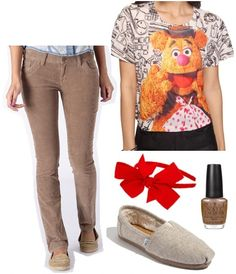 Fashion Inspiration: Disney's The Muppets The Fozzie Outfit!
