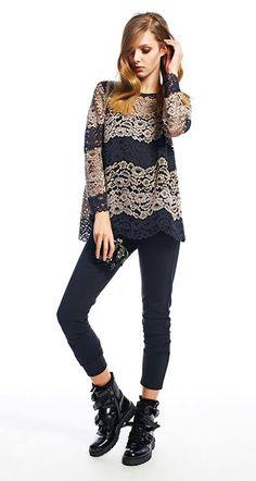 D'Maglia | Blusa TWIN-SET Simona Barbieri disponível. | #fashion Beachwear, Knitwear, Underwear, Lingerie, Clothes For Women, Twin, Womens Fashion, Pretty, Outfits