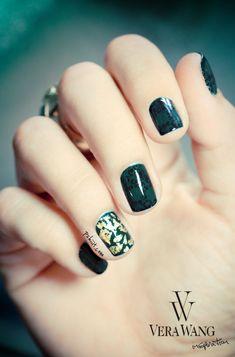 Vera Wang nail art inspiration http://pshiiit.com