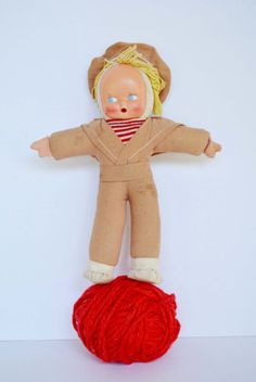Vintage Kewpie Doll Sailor by LiveryStables on Etsy