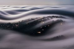 Photographer Captures Magnificent Images of the San Francisco Fog Rolling Over Marin County