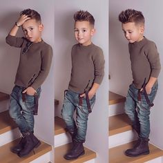 Little Boy Fashion Trends 2017 Cool Boys Haircuts, Toddler Boy Haircuts, Toddler Boys, Kids Boys, Young Boy Haircuts, Kids Hairstyles Boys, Boy Haircuts Short, Toddler Swag, Baby Boy Fashion