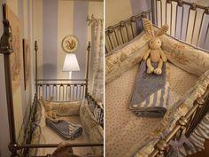 quarto com decoração de coelhinho