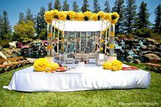 indian wedding outdoor mandap bright http://maharaniweddings.com/gallery/photo/5291