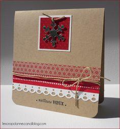 scrap rendez-vous: Noël - Carte d'Anne