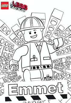 LEGO Coloring Pages - FREE Printables - Fun Finds For Families #coloringpages #printables #LEGO