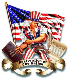 Restoration Of The Nation needs a new illustration or graphics by buzzart