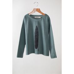 T-shirt LS Feather