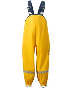 Didriksons - Kids Plaskeman Pants - Waterproof trousers ➽ Free delivery to UK from - Buy online now! Outdoor Wear, Outdoor Outfit, Waterproof Rain Jacket, Ski Wear, Trousers, Sweatpants, Costumes, Yellow, Boys
