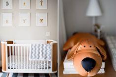 Decoração quarto de bebê - Suite Arquitetos - berço moderno clean