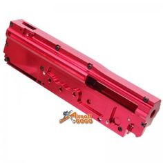 Tokyo Arms Aluminum CNC Gearbox Case (8mm) for A&K M249 AEG - AirsoftGoGo