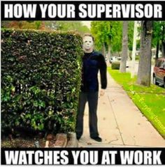 My old supervisor