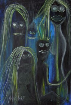 'WITCHES' by marachowska on artflakes.com as poster or art print $27.72