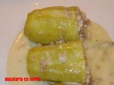 Dovlecei umpluti cu sos de ou si lamaie - Bucataria cu noroc Noroc, Honeydew, Fruit