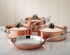 Mille Feuille: Copper Pots & Pans