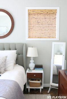 How to shorten bamboo window shades via DIY Playbook