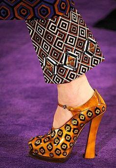 Prada 2013. Love the shoes!