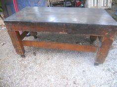 Industrial Era kitchen island workbench steel by TheIndustrialist, $2100.00
