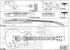 Telecaster blue print 1980 CBS Guitar Misc. Pinterest