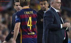 """Ivan Rakitic: """"Si Luis Enrique me dice que me tire por un puente lo haré"""""""