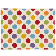 spotty rug Kids Bedroom, Bedroom Ideas, John Lewis, Wool Rug, Kids Rugs, Nursery Ideas, Home Decor, Baby, Wool Rugs