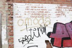Omoda graffiti spotted at Doel, Belgium