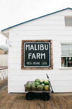 Malibu Farm: Breakfast at the Malibu Pier - Bikinis & Passports Malibu Pier, California Dreamin', Photo Couple, Along The Way, Oh The Places You'll Go, Santa Monica, Perfect Place, Travel Destinations, Villa