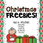Christmas freebie - includes a variety of reading and math activities.