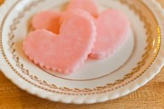 Homemade Candy for Valentines | Peppermint Hearts (no-bake)
