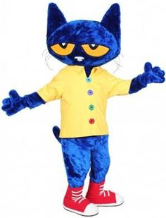 Pete The Cat Costume Rental