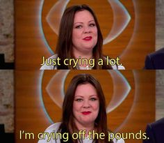 When she had the perfect response to people asking the secret to her recent weight loss. Bye, mic.