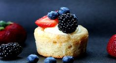Sugar Cookie Cups w/ fruit