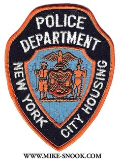 New York City Housing Police Patch. Support Law Enforcement, Law Enforcement Badges, Law Enforcement Officer, Police Badges, New York Police, Police Patches, Military Police, Law And Order, Sheriff