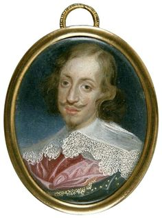 Miniature of Leopold Wilhelm of Austria, brother of Cecilia Renata by Frans Luycx, ca. 1638, Muzeum Czartoryskich, possibly from the collection of the Polish Vasas