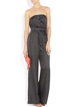 jcrew jumpsuit. I've always wanted to wear one of these.  I think they're cute on the right body type.