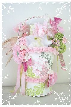 May Day basket ~ by birdsofafeather, via Flickr