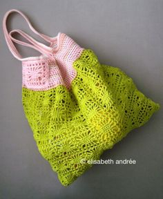 Spiders and stripes bag. Great tutorial by elisabeth andrée
