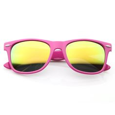 Colorful Sunglasses  Horn Rimmed Style Vintage Bright Neon Hipster Fixie Shades