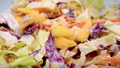 Why not spice up the side dish options at your next summertime BBQ with a delicious Caribbean coleslaw recipe that'll have guests begging for the recipe? Summer Recipes, New Recipes, Crockpot Recipes, Salad Recipes, Vegetarian Recipes, Chicken Recipes, Cooking Recipes, Caribbean Party, Caribbean Food