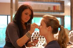 We love mineral makeup. We use Glominerals and Colorescience at ICLS.