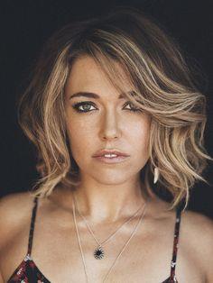 Rachel Platten Hair cut. Super cute