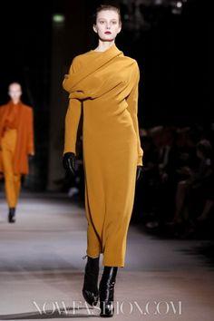 this dress by Haider Ackermann Fall  2012