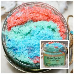 Mermaid Sugar Scrub  Under the Sea Body Scrub  Body Polish