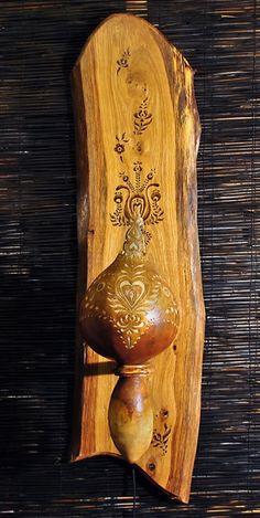Wall Gourdlamp
