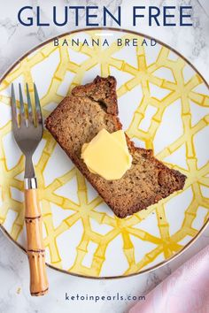 Nothing says comfort food like delicious gluten-free banana bread from Keto in Pearls! Make this Southern-inspired low carb bread with zero refined sugars. Mash ripened bananas, mix with almond flour, and wholesome ingredients to make a healthy bread loaf that your family will love. Bake some yummy, gluten-free banana bread using this EASY recipe! #glutenfree #lowcarbbread #bananabread #bananabreadhealthy #healthybananabread #bananabreadrecipehealthy #bananabreadrecipe #healthybaking Clean Banana Bread, Gluten Free Banana Bread, Best Banana Bread, Healthy Banana Bread, Banana Bread Recipes, Recipe Using Ripe Bananas, My Recipes, Low Carb Recipes, Sugar Free Diet