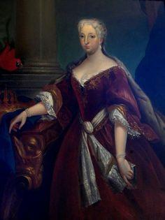 Portrait of Maria Anna of Austria (1683-1754)