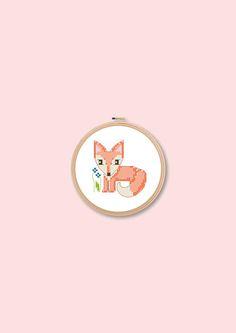 cross stitch pattern x-stitch kid's embroidery baby