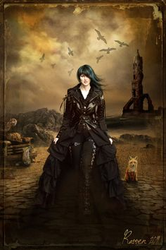 Ravven awesome designer! Lady of the Apocalypse