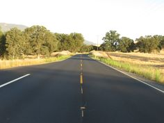 Scenic Highway 49 near Angels Camp in Northern California. Photo by Russell Snyder Aug. 28, 2014.